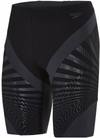 Speedo Chevron Splice Jammer Black/Oxid Grey