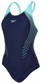 Speedo Fit Laneback Navy/Spearmint/Vita Grey