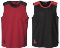 Basketbalový dres Spalding Essential Shirt red/black