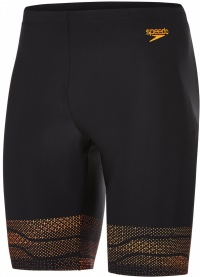 Speedo Lane Jammer Black/Fluo Orange