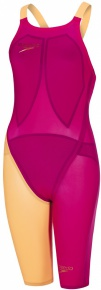 Speedo LZR Elite 2 Closedback Kneeskin Magenta/Fluo Orange