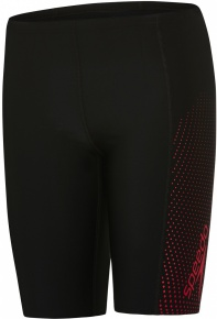 Speedo Gala Logo Panel Jammer Boy Black/Risk Red