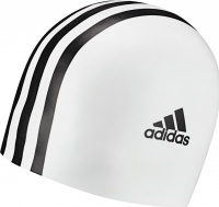 Adidas Silicone 3 Stripes Cap Youth