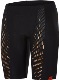 Speedo Fit PowerMesh Pro Jammer Black/Fluo Orange