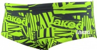 Jaked Zebra Trunks Black/Green