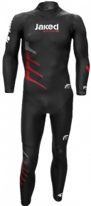 Jaked Challenger Multi Thickness Wetsuit Black/Red