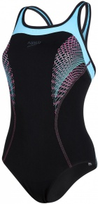 Speedo Fit Kickback black/blue