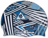 Plavecká čepička Mad Wave Stripes Silicone