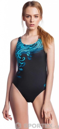 Mad Wave Swimsuit Wave Turquoise/Black