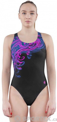 Mad Wave Swimsuit Wave Pink/Black