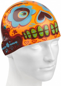 Mad Wave Mexico Swim Cap