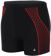 Aqua Sphere Onyx Aqua Fit Boxer Black/Red