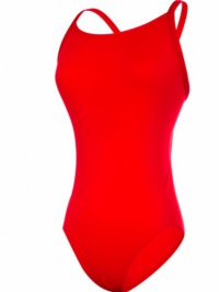 Funkita Still Red Solid Diamond Back One Piece