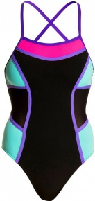 Funkita Mint Queen Colour Block One Piece