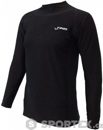 Finis Thermal Swim Shirt Black