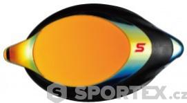 Swans SRXCL-MPAF Mirrored Optic Lens Racing Smoke/Orange