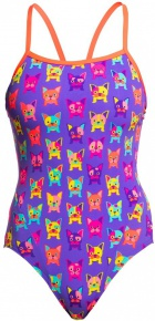 Funkita Pooch Party Single Strap One Piece
