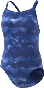 Adidas Performance Training Suit Allover Printed Collegiate Royal/Ash Blue