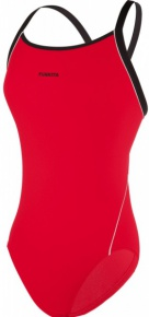 Funkita Still Red Diamond Back One Piece