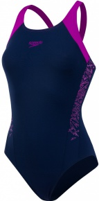 Speedo Boom Splice Muscleback Navy/Diva