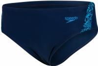 Speedo Boom Splice 6,5cm Brief Boy Navy/Windsor Blue