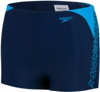 Speedo Boom Splice Aquashort Boy Navy/Windsor Blue