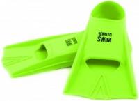 Plavecké silikonové ploutve BornToSwim Green
