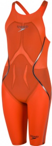 Speedo Fastskin LZR Racer X Openback Kneeskin Hot Orange/Black