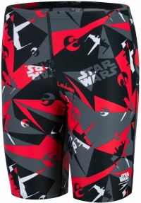 Speedo Alliance Camo Allover Jammer Boy Black/USA Charcoal