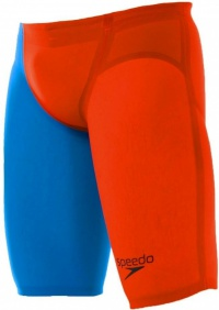 Speedo Fastskin LZR Racer Elite 2 Jammer Hot Orange/Bondi Blue