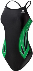 Tyr Phoenix Diamondfit Black/Green
