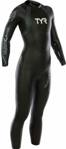 Tyr Hurricane Wetsuit Cat 2 Women Black/Lt Blue