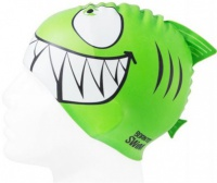 BornToSwim Shark Junior Swim Cap