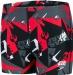 Speedo Allover Aquashort Boy Alliance Camo Black/USA Charcoal