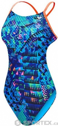 Tyr Machu Cutoutfit Blue/Multi