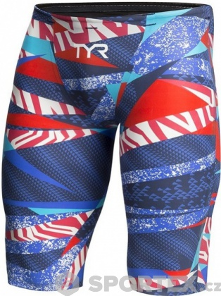 Tyr Avictor Male Short Red/White/Blue