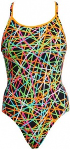 Funkita Strapped In Diamond Back One Piece