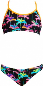 Funkita Palm Drive Racerback Two Piece Girls
