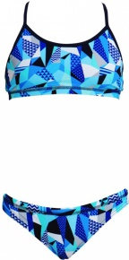 Funkita Crack Attack Racerback Two Piece Girls