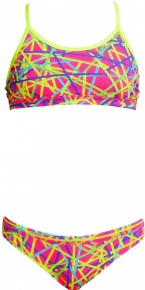 Funkita Bound Up Racerback Two Piece Girls
