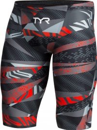 Tyr Avictor Male Short Grey/Red