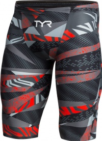Tyr Avictor Male High Short Grey/Red