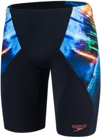 Speedo Placement Digital V Jammer Solardive Black/Turquoise