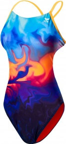 Tyr Fumoso Cutoutfit Blue/Coral