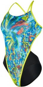 Michael Phelps Oasis Open Back Multicolor/Black