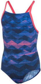 Adidas Performance Training Swimsuit Allover Printed Takedown Girls Legend Ink/Real Pink