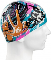 Mad Wave Mad Girl Swim Cap Junior