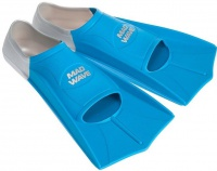 Mad Wave Short Training Fins Blue