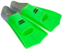 Mad Wave Short Training Fins Green