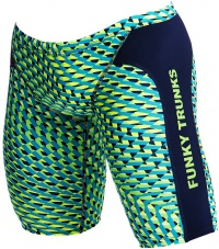 Funky Trunks Green Gator Training Jammer